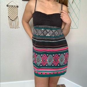 Billabong Cotton Dress Adjustable Cover Up Sz M